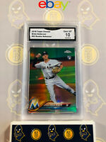 2018 Topps Chrome Brian Anderson #22 Rookie Refractor - 10 GEM MINT GMA Graded