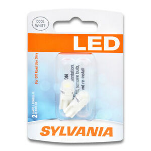 Sylvania SYLED Rear Side Marker Light Bulb for Plymouth Fury Duster Reliant it