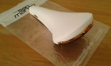 New San Marco Rolls white leather saddle Eroica