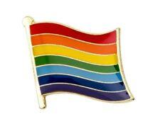 Rainbow Flag Lapel Metal Pride Pin Badge LGBT Lesbian Gay Diversity Symbol