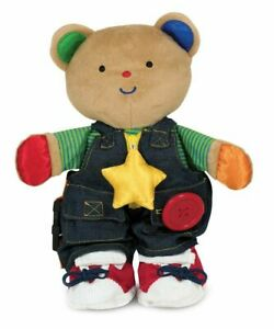 Melissa  Doug K's Kids - *Teddy Wear Stuffed Bear* Educational Toy NEW / Sealed