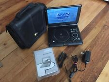 "MAGNAVOX MPD105 PORTABLE DVD PLAYER (10.2"" Screen) + Case Logic Bag ,NICE"