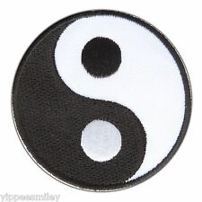 YIN YANG TAO DAO TAOISM SYMBOL CHINA CHINESE RETRO WEED Iron-On Patches #0620