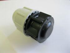 PLASSON 25mm Dritto mm MDPE COMPRESSIONE TUBO ACQUA STOP fine PLUG 7120 (SS)