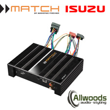 Match Amp & harness Package PP62DSP + FREE PP-AC Harness Cable Isuzu
