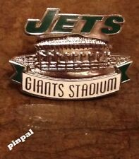 New York Jets Pin ~ Giants Stadium ~ NFL ~ Football ~1999 vintage