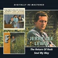 Jerry Lee Lewis : The Return of Rock/Soul My Way CD (2013) ***NEW*** Great Value