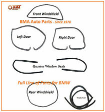NEW BMW E10 1600 1602 2002 2002tii 7 PIECE BODY SEAL KIT 1967-1974