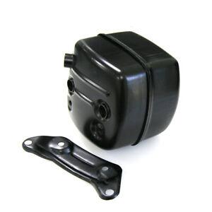 Exhaust Muffler Ported Bracket W/ Gasket Fit Husqvarna 365 371 372 XP 385 390XP