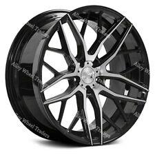 "18"" Black ZX11 Alloy Wheels Fits Ford Transit Custom Tourneo Rated 1000kg 5X160"