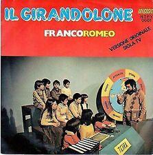 DISCO 45 Giri FRANCO ROMEO - Il girandolone // Bambino mio