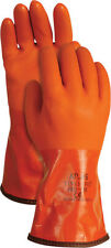 Atlas  Unisex  Indoor/Outdoor  PVC  Coated  Work Gloves  Orange  XL
