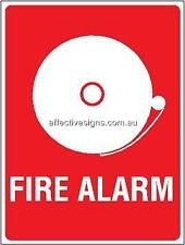 Fire Alarm Sign Safety Signs Australian Made Quality Printed Sign