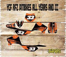 MOTOCROSS ENDURO GRAPHICS  HONDA CRF 50 70 PITBIKE 125 140 ALL MODELS-STICKERS