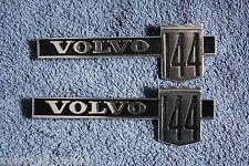 Volvo 144 GL Kotflügel Emblem fender badge neu NOS new old stock