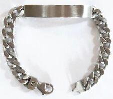 Panzerarmband Gravurplatte - ID- Gravur - TITAN Armband - Identitäts  Armband