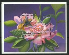 CONGO DEMOCRATIQUE FAUNE FLORE INSECTES INSECTS FAUNA FLORA INSEKTEN ** 2001 8€