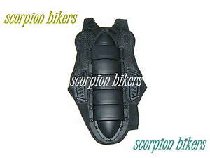 Motorcycle Motocross Back Spine Protector Body Armour Size XL