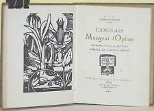 Musset l'anglais mangeur d'opium 1920