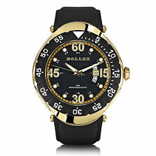Holler Goldwax Gold Mens Watch HLW2188-2 2188-2 Brand New in Box
