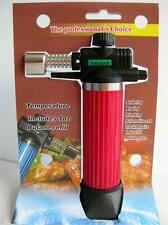 Refillable Gas/ Butane Blow Torch Lighter Culinary Solder Cooking Chef Glazing