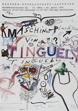 TINGUELY JEAN Hannover 1972 Original handsigniert TOP!!
