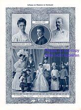 Erzherzog Franz Ferdinand von Österreich Toskana 1908 XL Fotoabb Maria Valerie +