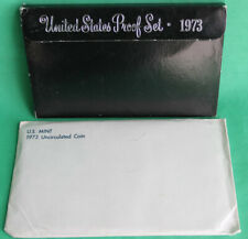 1973 Proof and Uncirculated Annual US Mint Coin Sets PDS 18 Coins