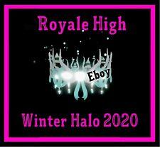 ROBLOX ROYALE HIGH - WINTER HALO 2020 RH, DIAMONDS **READ DESCRIPTION**