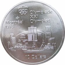CANADA  KM  87  10 Dollars Olympia STADTANSICHT MONTREAL 1973  STG UNC