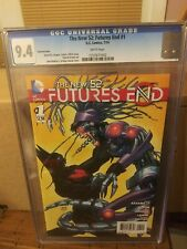 The New 52: Futures End 1 CGC 9.4 VARIANT COVER