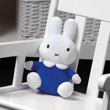 "My First Miffy Plush Toy in Blue Dress | 9"" Sitting Miffy Beanie Super Soft Toy"