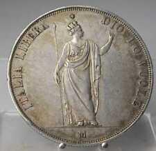 RRR!! 5 Lire 1848 M, Mailand, Silber