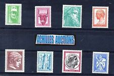 Greece Ancient Art III MNH 1958, Pericles, Zeus, Alexander the Great, Charioteer