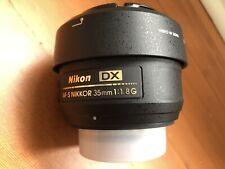 Flawless Nikon Nikkor AF-S DX 35 mm F/1.8G Lens (JAA132DA)