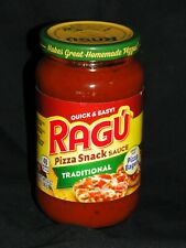 Ragu Pizza Quick Traditional Pizza Snack Sauce 14 oz. Discontinued Hard To Find