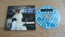 THE FATIMA MANSIONS - NITE FLIGHTS (RARE DIGIPAK CD SINGLE + PROMO STICKER)