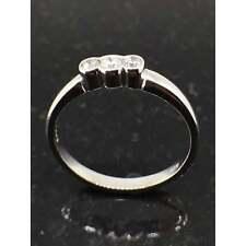 Diamond Jewellery 9ct White Gold 0.18ct Diamond Ring JH000027