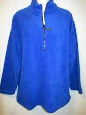 LT Sport Lord & Taylor Cobalt Blue Half Zip Fleece PM