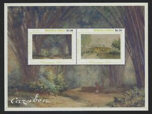 Trinidad & Tobago 2003 Cazabon Paintings set & S/S Sc# 693-98 NH