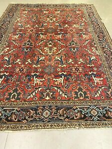 antico-swiss Beautiful Antique indoHERIZI rug 7`6 x 10`3 ft