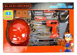 Black & Decker Junior Mega 42 Tools, Drill, Hammer Building Set