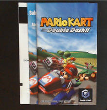 Manual and Inserts - NO GAME - Mario Kart Double Dash - Gamecube - Very Good