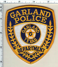 Garland Police (Texas) Shoulder Patch from 1991