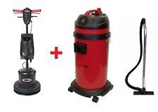 Nilfisk Viper Grundreiniger Set Einscheibenmaschine LS160 + Wassersauger LSU135P