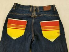 Roca Wear Size 38 100% Cotton Men's Jeans Authentic Est. 1999 Peowned Fast SHip