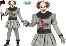 Uomo Halloween Killer Clown Costume It Tipo Completo Fg
