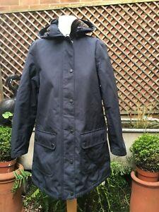 Barbour CIRRO hooded Weather comfort  jacket coat women's size 12