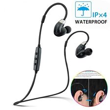 Mpow Bluetooth Headset Seals Airflow Sports Headphones Apt-X For iPhone 6s/6/5s
