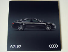 Audi . A7 : S7 . Audi A7/S7 . June 2017 . 2018 MY Sales Brochure